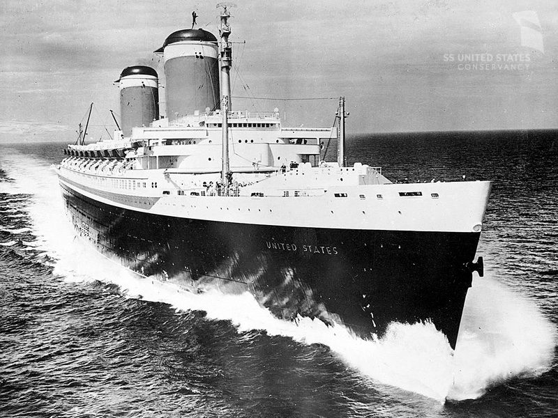 Photo credit: SS United States Conservation Society