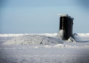 WATCH: U.S. Navy Attack Sub Emerges from Ice in the Arctic Circle