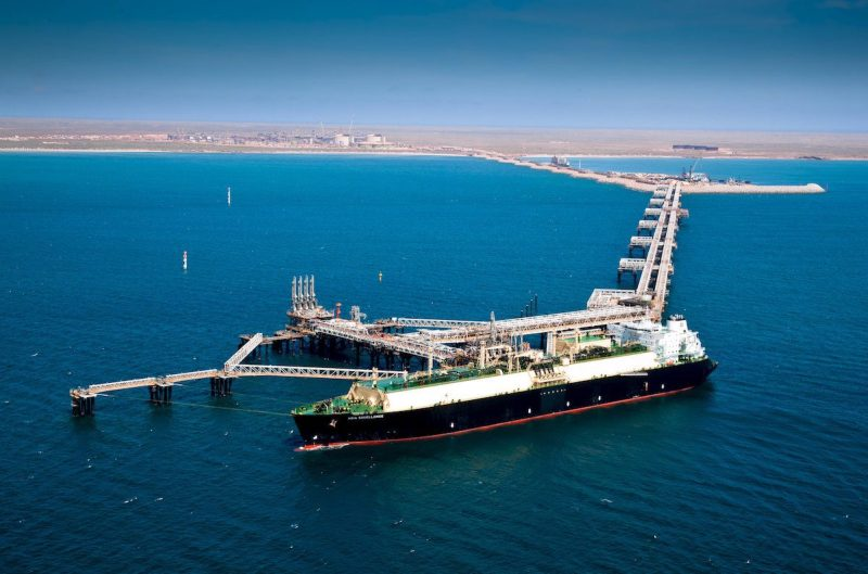 An undated handout photo of Chevron's Gorgon LNG project located in Western Australia. Photo credit: REUTERS/Chevron
