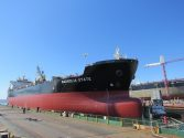 NASSCO Christens LNG-Ready Jones Act Tanker, MT Magnolia State