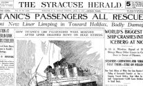 Titanic's Passengers All Rescued