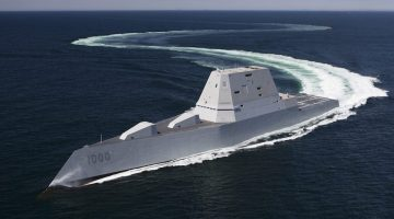 The U.S. Navy Has Taken Delivery of Its Most Advanced Destroyer Ever