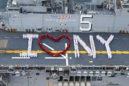 Ship Photos of the Day – Parade of Ships Kicks Off Fleet Week New York