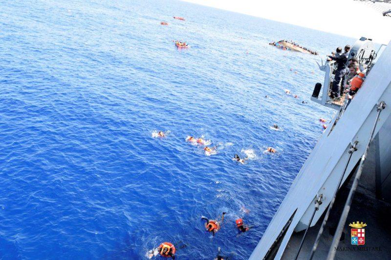 Marina Militare/Handout via REUTERS