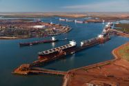 Port Hedland Iron Ore Exports to China Hit Record