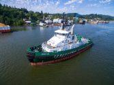 Foss Maritime Christens New 'Arctic' Tug