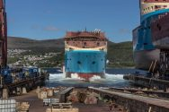 VIDEO: Kleven Verft Launches 'Starfish' AHTS for Maersk Supply Service