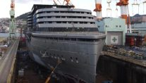 Watch: Cruise Ship AIDAPrima Construction Time-Lapse