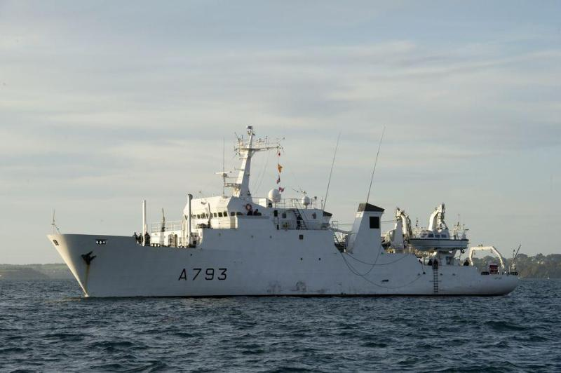 French Navy vessel Laplace (A 793)