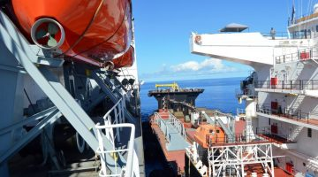 Photos: U.S. Navy Shows Off Seabasing Ops with USNS Montford Point