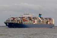 Maersk Line Ship Runs Aground in Suez Canal