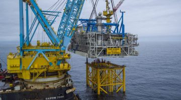 WATCH: Ivar Aasen Topside Installation in North Sea
