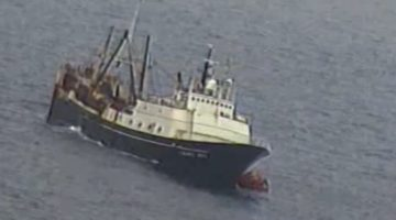 46 Rescued from Bering Sea After Abandoning Sinking Fishing Vessel