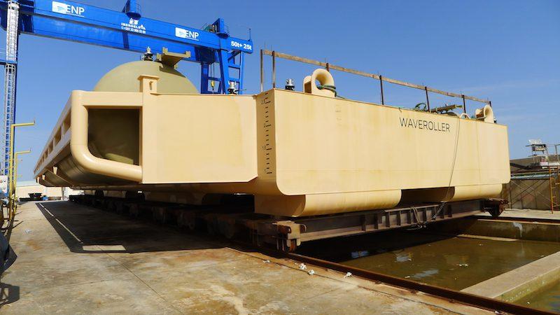 waveroller tidal power plant