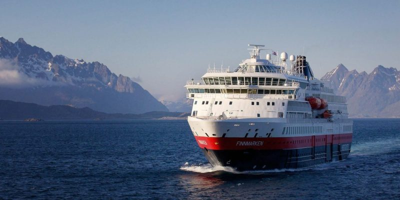 hurtigruten cruise ship MS Finnmarken