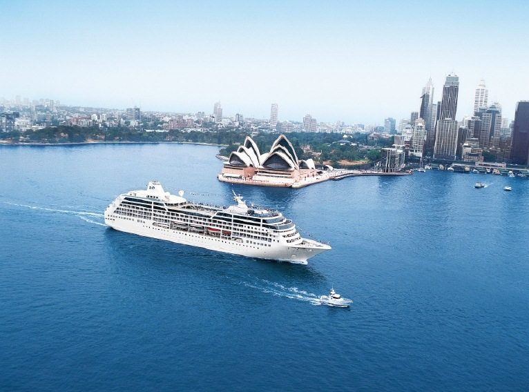 Sea Princess Cruise Ship Sydney Harbor Australia