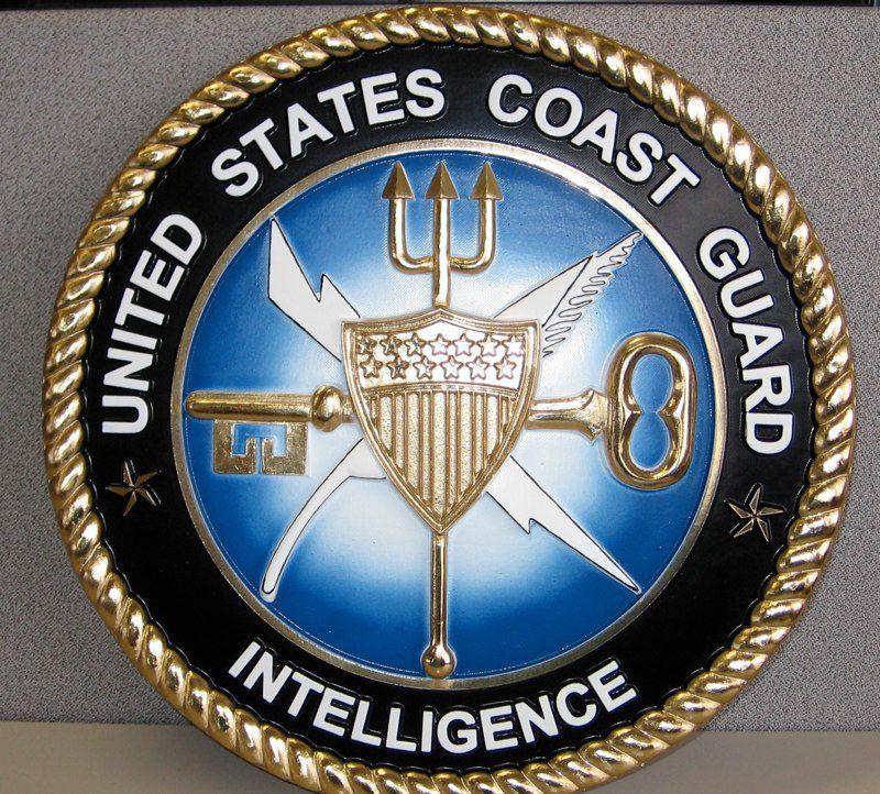 USCG Coast Guard Intelligence Badge