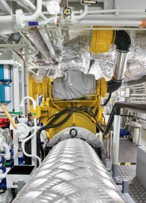 Caterpillar 3516C Marine Engine