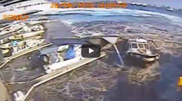 Video: Carnival Cruise Ship's Prop Wash Destroys Italian Marina