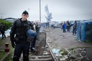 French Truck Drivers Blockade Port Of Calais To Protest Migrant Crisis