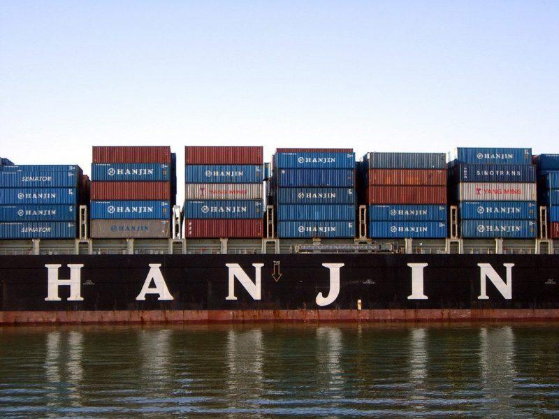 Hanjin Philadelphia at the Port of Oakland