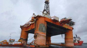 Transocean Winner Ready for Its Lift