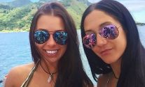 Isabelle Lagace, 28, and Melina Roberge, 22