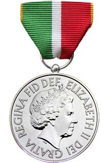 UK Merchant Navy Medal And Ribbon