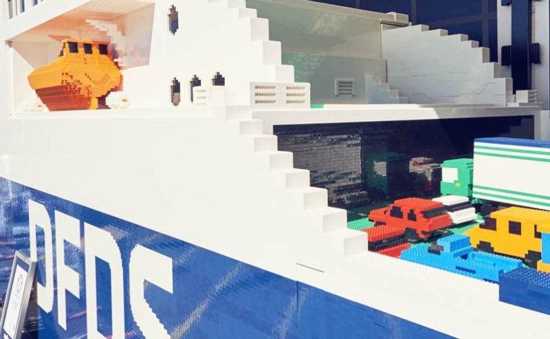 World's Largest Lego Lifeboat