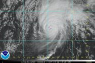Hurricane Nicole Hammering Bermuda as Category 3 Storm with Winds Near 120 mph