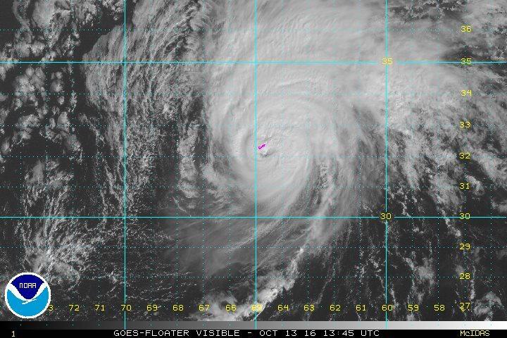 Satellite image via NWS NHC