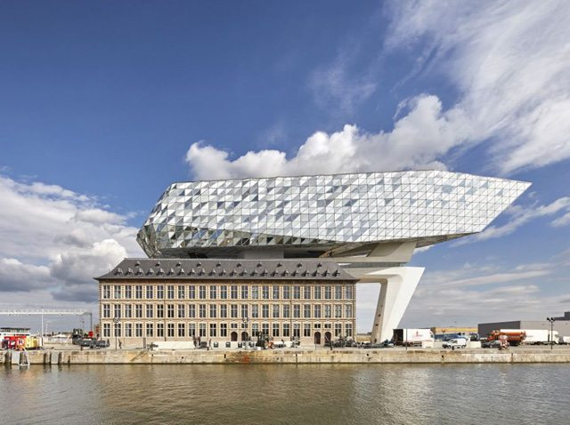 ZHA_Port House_Antwerp_?Hufton+Crow_007
