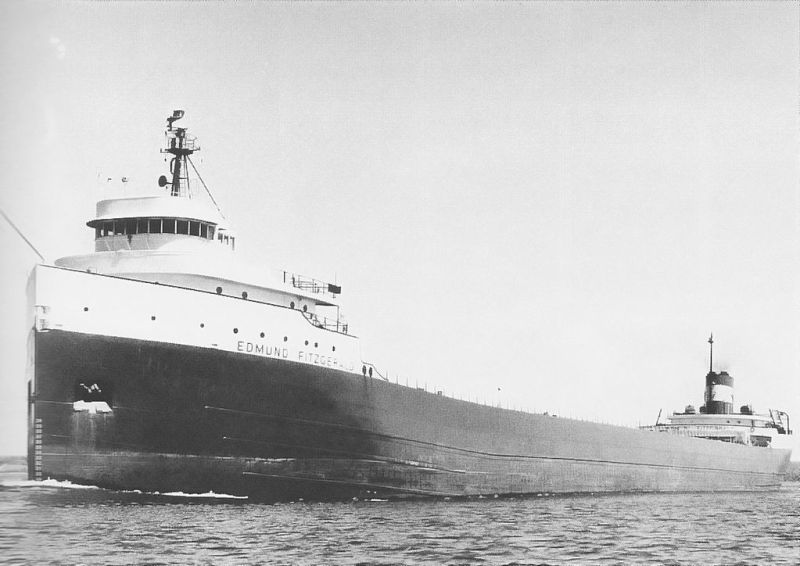 SS Edmund Fitzgerald. Photo: U.S. Army Corps. of Engineers