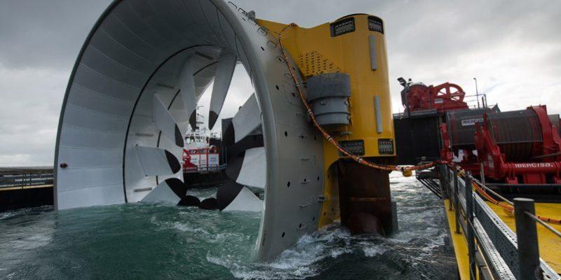 openhydro tidal power turbine