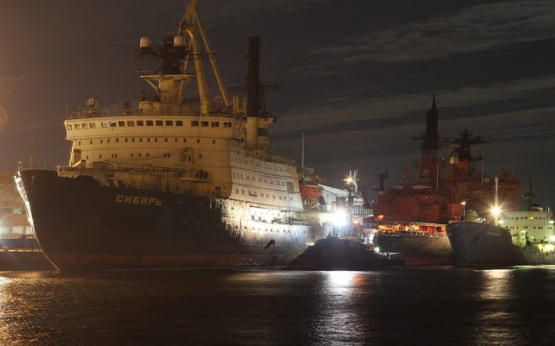 The nuclear-powered icebreaker Sibir. Photo: Atomflot