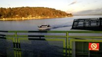 Caught On Camera – Boater Crashes Into Washington State Ferry
