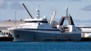 Fishing Trawler Crewmen Held in Iceland Murder Mystery