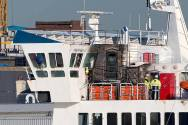 Ferry Evacuated After Fire in the Solent
