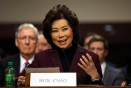 "U.S. Transportation Nominee Chao Cruises Through Confirmation Hearing; ""Jones Act Will Be Obeyed"""