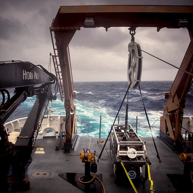 NOAA Ocean Explorer: NOAA Ship Okeanos Explorer: Our Deepwater B