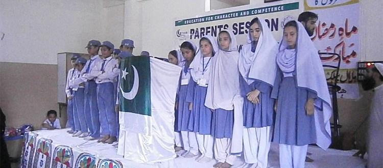 A Istaqbaal-e-Ramadan Session Held at Green Crescent Trust