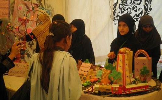Arfa Karim Science & Art Exhibition