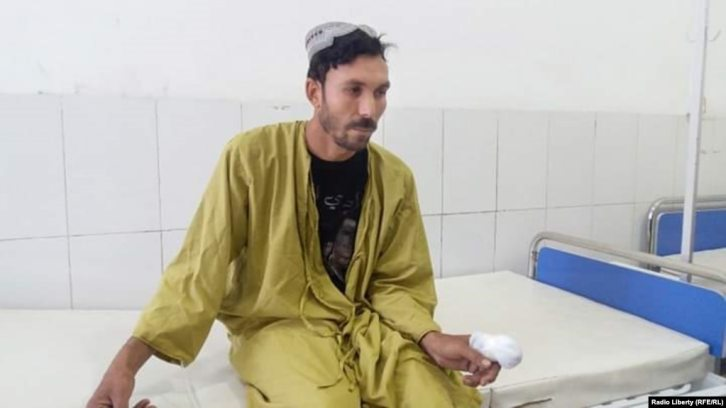 """Taliban militants cut off Hafizullah's index finger as punishment for voting in Afghanistan's recent parliamentary elections. """"We risked our lives to vote,"""" he says."""
