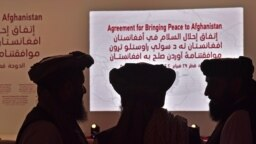 Members of the Taliban negotiating team arrived in Qatar on September 5.