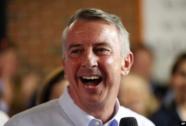 Ed Gillespie, es el candidato republicano para gobernador en Virginia.