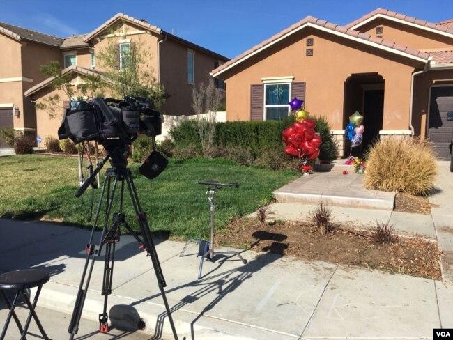 Casa de los Turpin en Riverside, California, donde una pareja torturó y encadenó a sus trece hijos por años.
