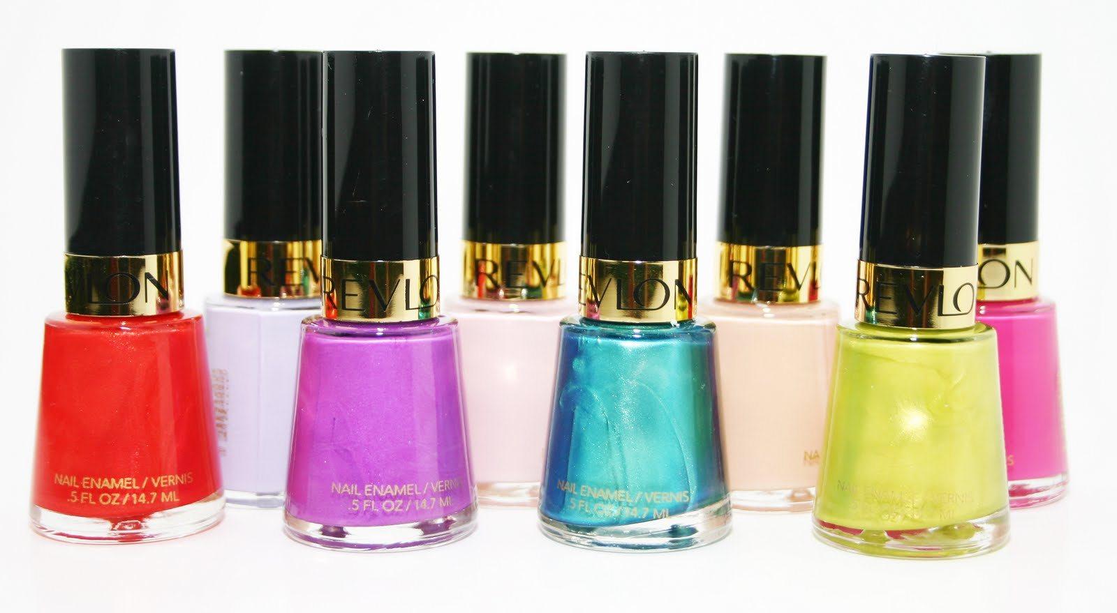 revlon nail enamel latest color cellection