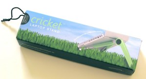 Gear Diary The Cricket Laptop Stand Review photo