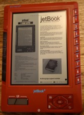 Gear Diary The Ectaco jetBook Universal Portable Reading Device Review photo