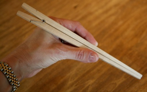 Gear Diary The Useful Things Clothespin Chopsticks Review photo